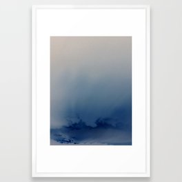 Minnehaha Blue Framed Art Print