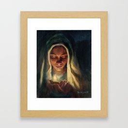 Wise Virgin Framed Art Print
