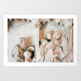 Scenes from the Passion Art Print