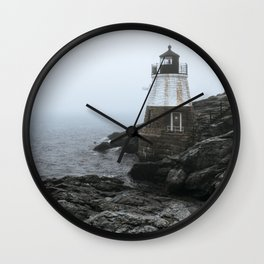 Castle Hill Lighthouse, Rhode Island Wall Clock