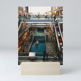 Shopping Mall Boat Mini Art Print