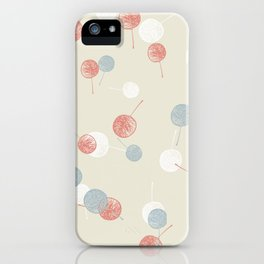 Small-leaves_3c_kid iPhone Case