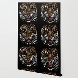Tiger Face (Signature Design) Wallpaper