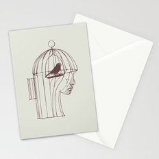 Be Alone Stationery Cards