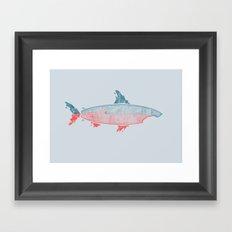 Killer Surf Framed Art Print