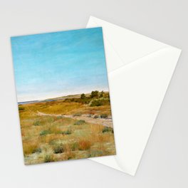 William Merritt Chase - First Touch Of Autumn - Digital Remastered Edition Stationery Cards