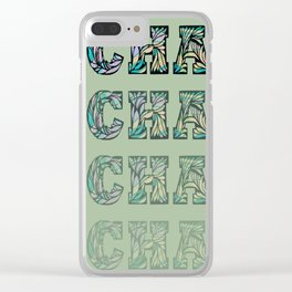Charming - Green Clear iPhone Case
