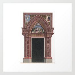 Holy Entrance Art Print