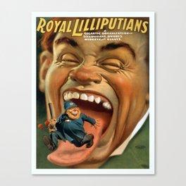 Vintage poster - Royal Lilliputians Canvas Print