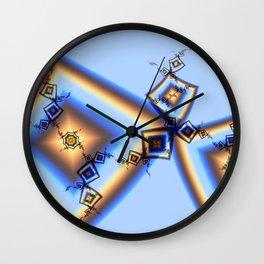Fractal - Ripple Effect Wall Clock