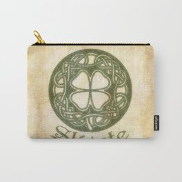 Slainte or To Your Health Carry-All Pouch