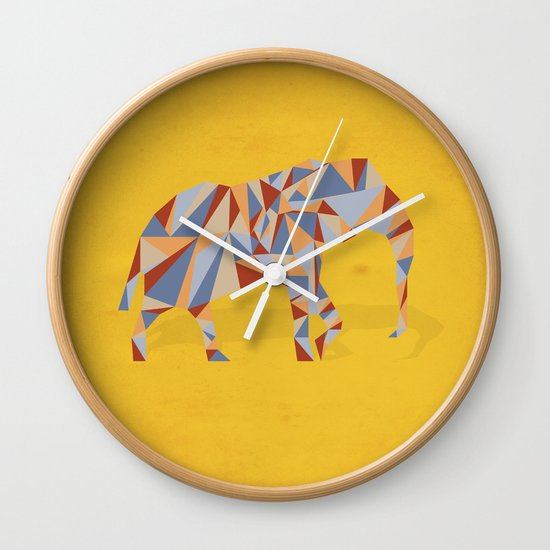 When in India Wall Clock