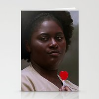 oitnb Stationery Cards featuring Taystee, OITNB by sinika