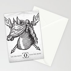 Let The Blind Lead The Blind Stationery Cards