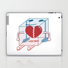 Little Box of Broken Heart Laptop & iPad Skin