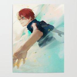 Todoroki move Poster