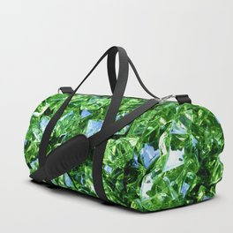 Green Crystals Duffle Bag