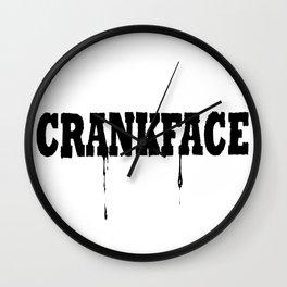 Crank Wall Clock