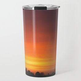 SUNRISE - SUNSET - ORANGE SKY - PHOTOGRAPHY Travel Mug
