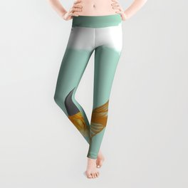 Goldfish with a Shark Fin (under a cloud) Leggings