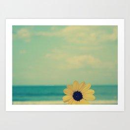 life at the beach Art Print