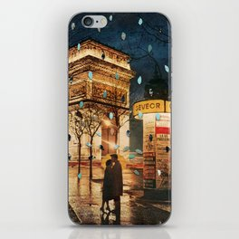 Rain Cant Touch Us iPhone Skin
