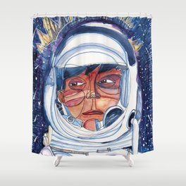 Indigenous from Space Shower Curtain