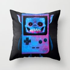 UNDEAD BOY / GAMEBOY / SKULL / 8BIT / NINTENDO / NES Throw Pillow