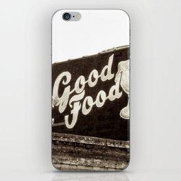 Yum Yum Sepia iPhone Skin