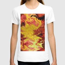 Wall of fire  T-shirt