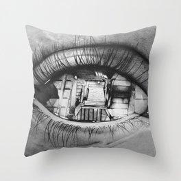 Vertigo effect Throw Pillow