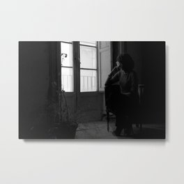 In the dark room Metal Print