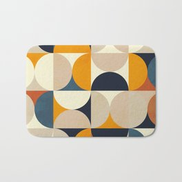 mid century abstract shapes fall winter 1 Bath Mat