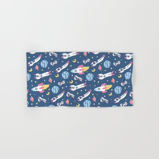 Space People Hand & Bath Towel