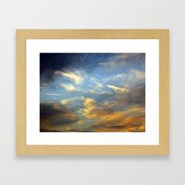 Solar Sails Framed Art Print