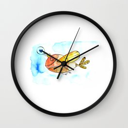 Passarinho que canta amor Wall Clock