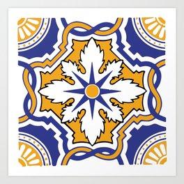 Azulejo 4 Art Print