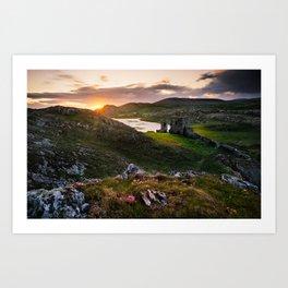 West Cork, Ireland - The Awakening  (RR87) Art Print