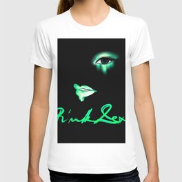 Pink Lexi Electric Green T-shirt