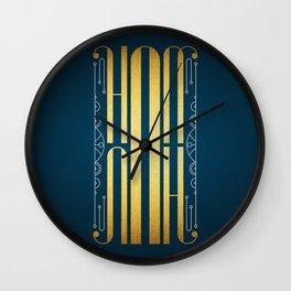 Hannah Wall Clock