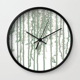 Marble Pathways Wall Clock