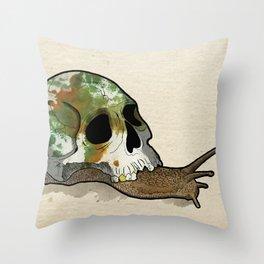 Slow Death Throw Pillow