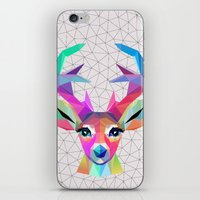deer iPhone & iPod Skins featuring deer by mark ashkenazi