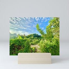Sunny Jungle Mini Art Print