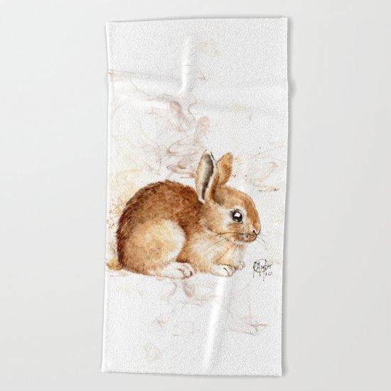 Bunny Beach Towel