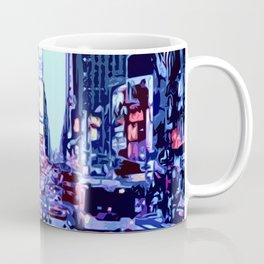 Through the streets of New York City Coffee Mug