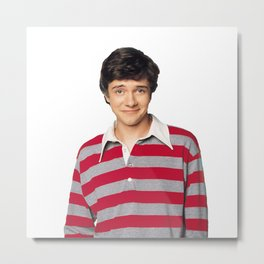 Topher Grace Metal Print