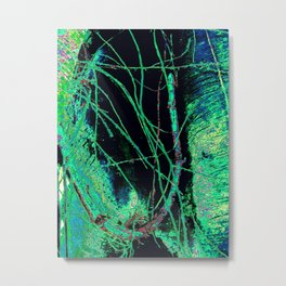 Abstract Roots Metal Print