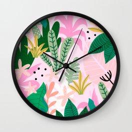 Into the jungle - sunup Wall Clock