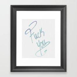 A Graceful Reminder Framed Art Print